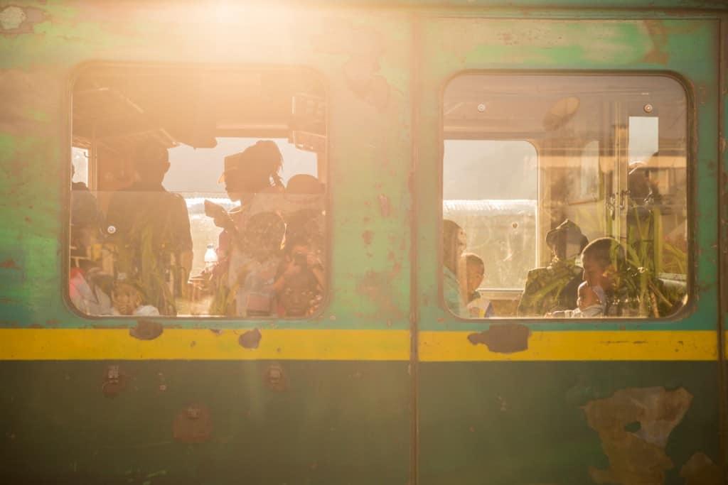 搭乘列车从Fianarantsoa到Manakara