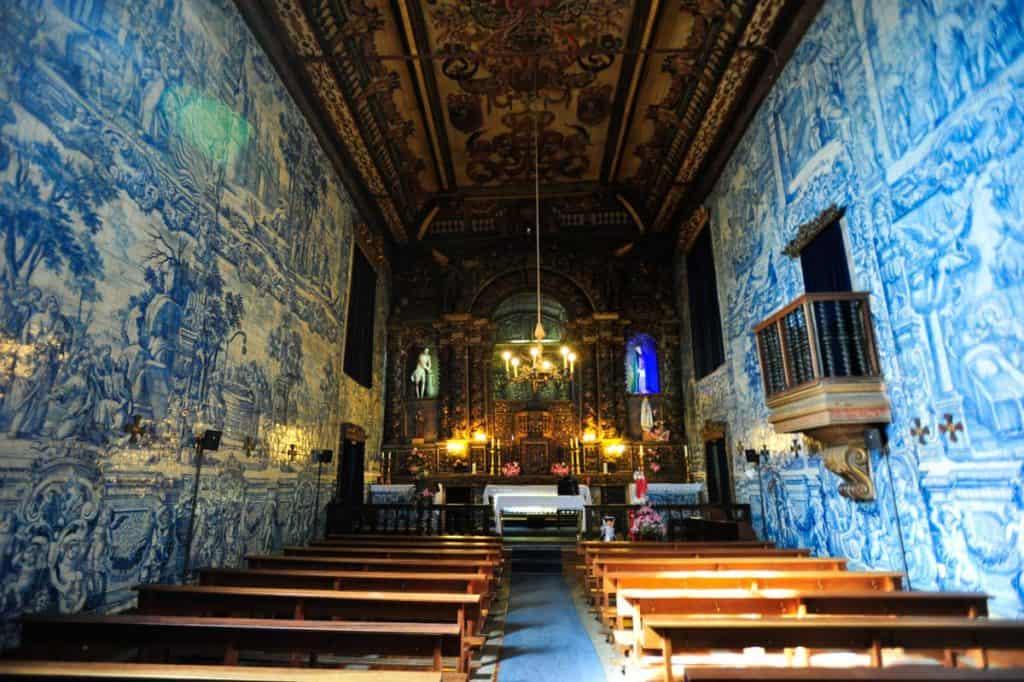 Nave da Igreja da Misericórdia de Chaves