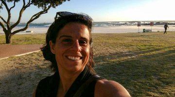 Raquel Gramaço na Cidade do Cabo
