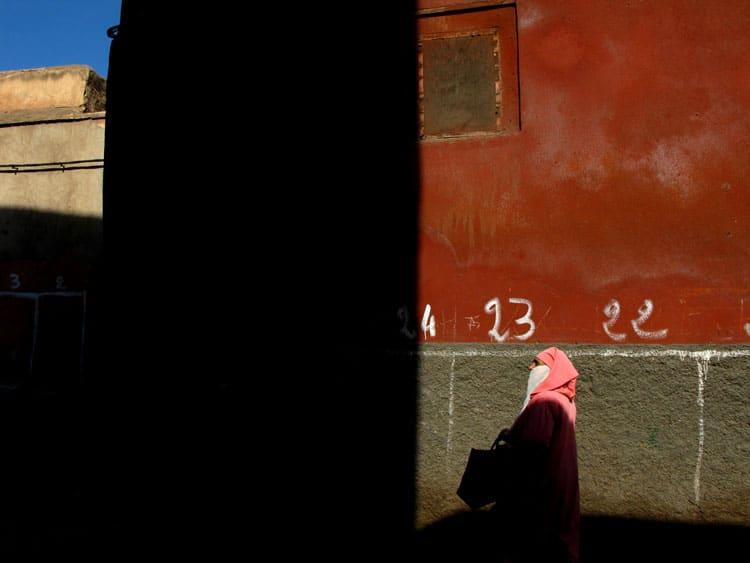Mulher marroquina
