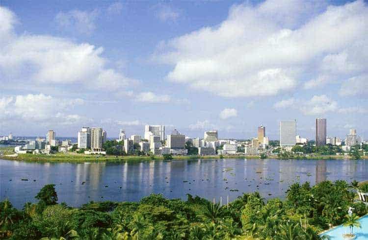 Abidjan, capital da Costa do Marfim