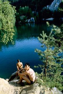 Lago da Reserva Natural