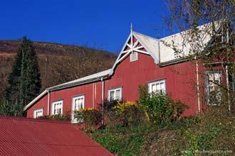 Fachada do Royal Hotel em Pilgrim's Rest