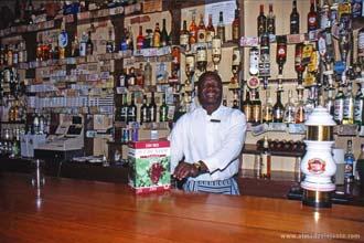 Bar do Royal Hotel em Pilgrim's Rest