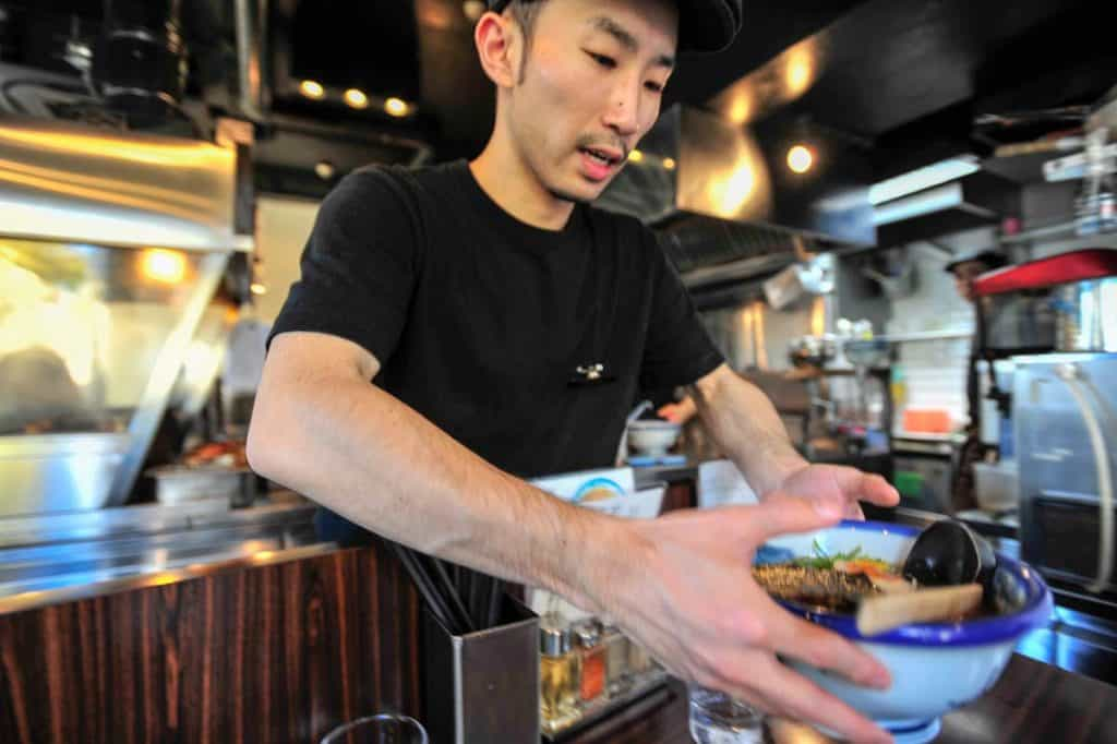 Restaurante Afuri, em Tóquio