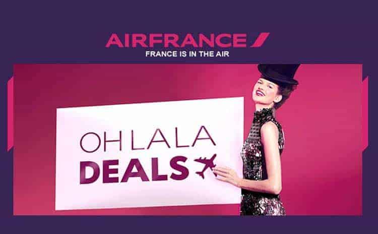 Air France Oh La La Deals