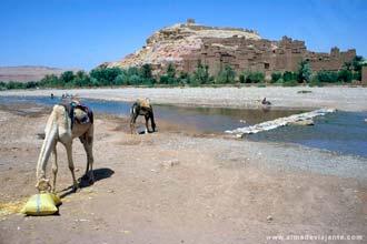 Ait-Benhaddou já foi encruzilhada das rotas entre o norte de África e Tombuctu