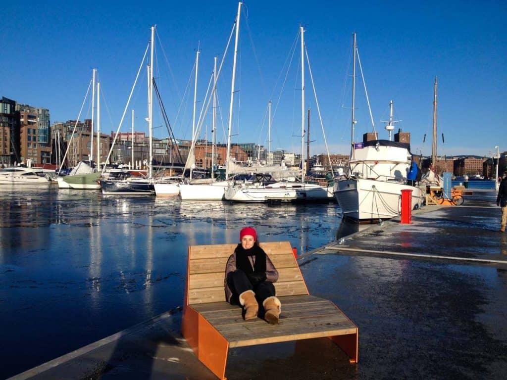 Viver em Oslo: bairro Aker Brygge
