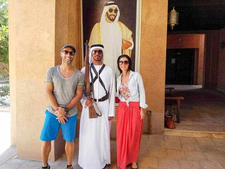 Viver em Al Ain, Abu Dhabi: Tiago Leal