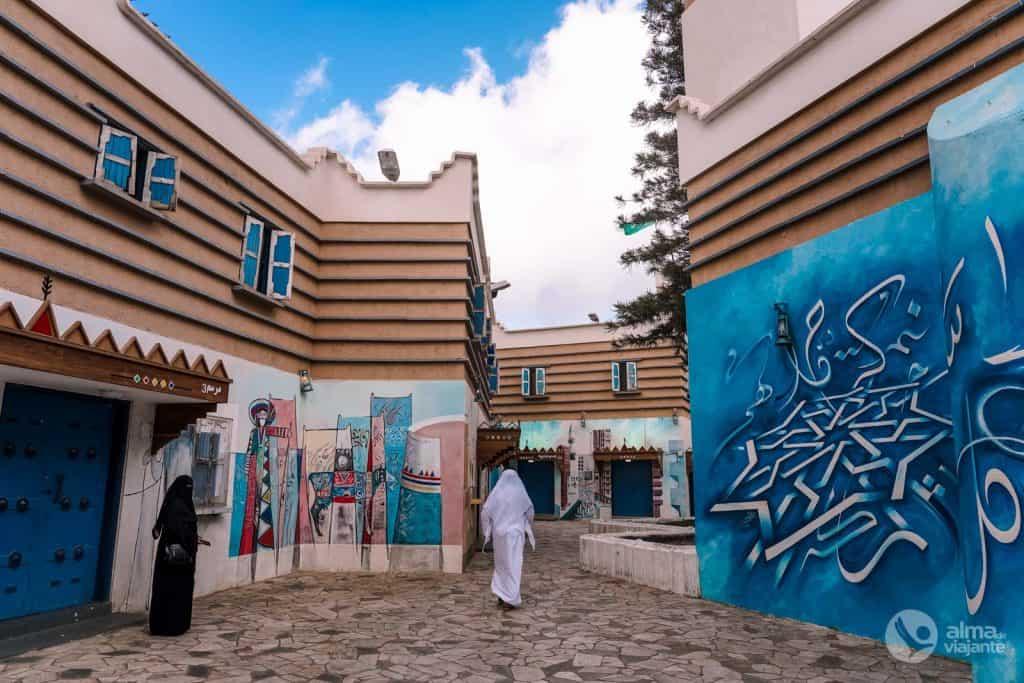 Al-Muftaha Art Village, Abha, Arábia Saudita