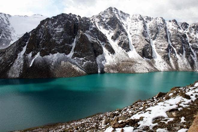 Lago Ala-Kol, vale de Karakol
