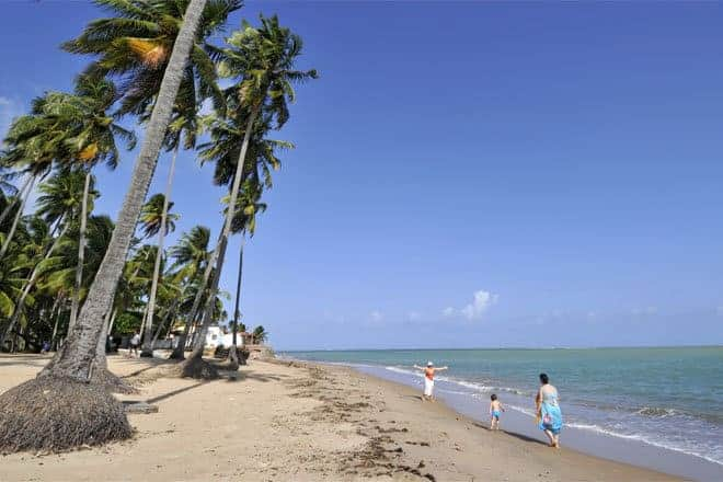 Praia de Barreiras, Alagoas - Brasil