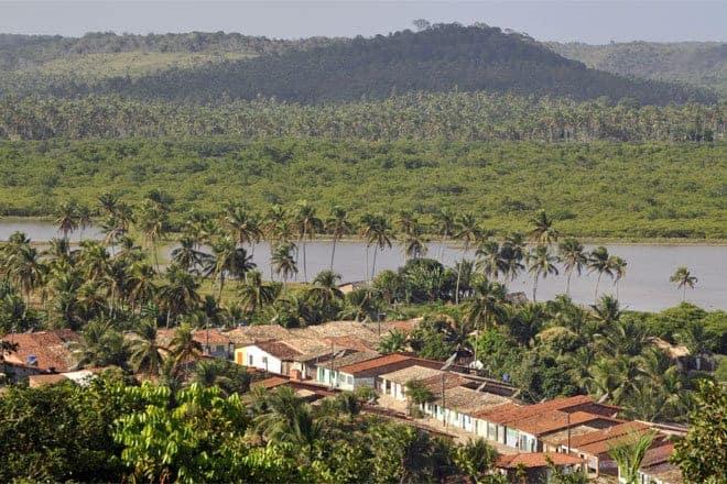 Casario de Porto de Pedras, Alagoas Brasil