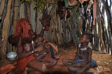 Aldeia Himba, Namíbia