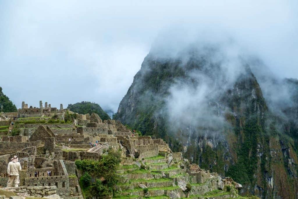 Heimsókn Machu Picchu
