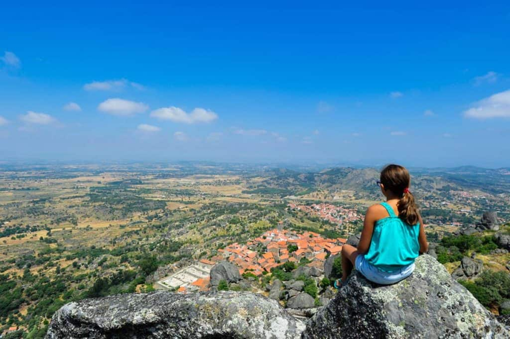 Monsanto vista do castelo