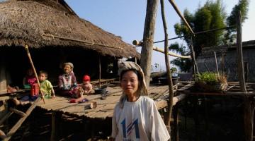 Village nálægt Chiang Mai, Taílandi