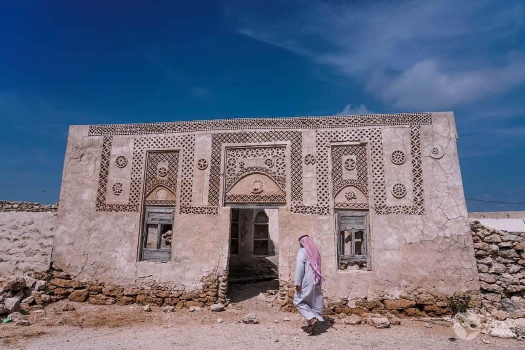 Casa senhorial nas ilhas Farsan