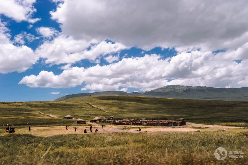 Maasai Village, Tanzánia