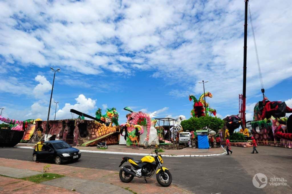 Išorinė Bumbódromo teritorija