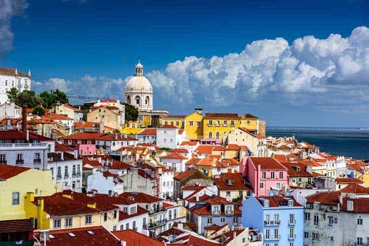 Telhados de Alfama, Lisboa