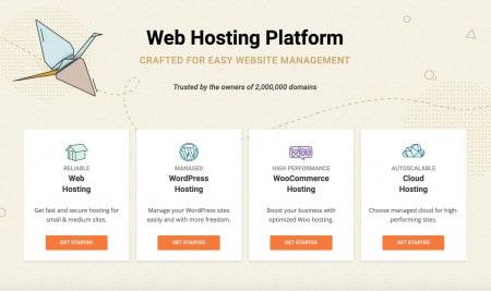 Alojamento web: Siteground