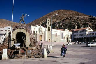 A cidade de Oruro