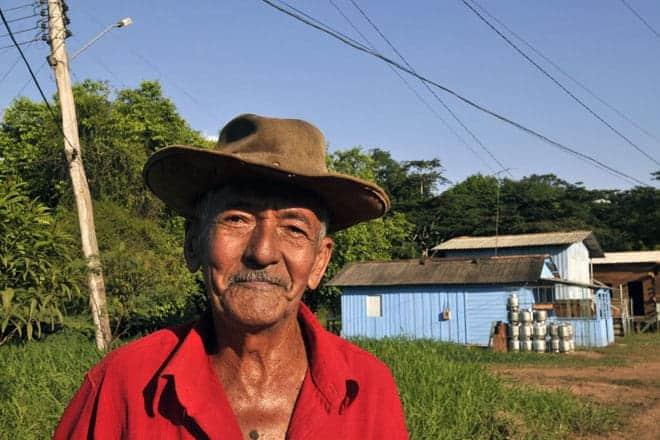 A simpatia de um habitante da comunidade de Cachaço, próximo de Serra do Navio