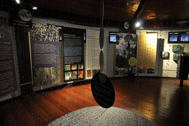 Interior do Museu Sacaca, Macapá