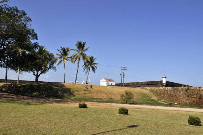 Vista exterior da Fortaleza de São José de Macapá