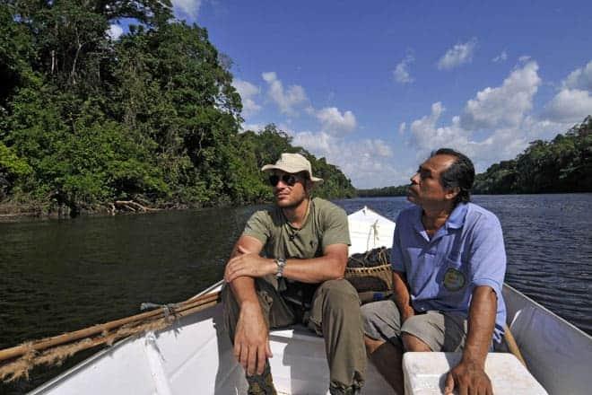 """Numa voadeira com o índio """"seu Norberto"""", conhecido por Jungle Man, a caminho do Parque Nacional Montanhas do Tumucumaque"""