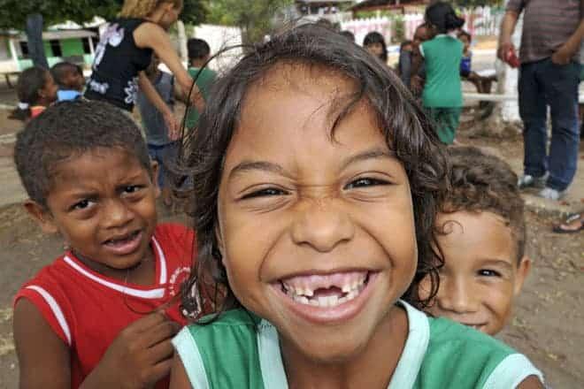 Alegria juvenil em Mazagão Velho, Amapá