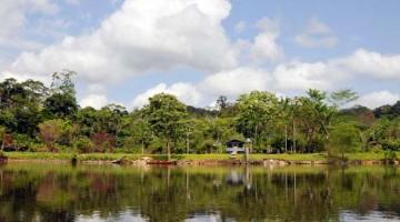 Na Amazónia com um índio tikuna