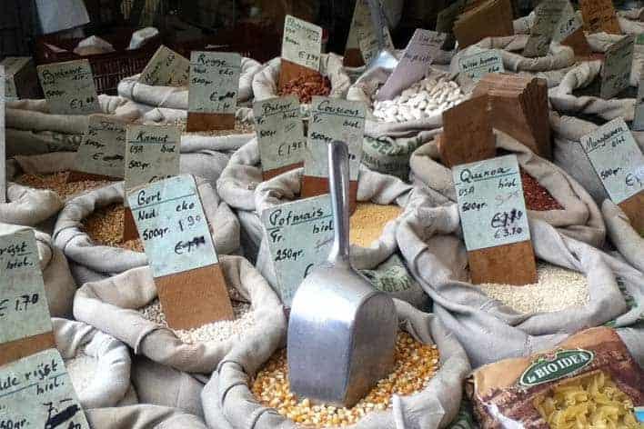Mercado no bairro Jordaan, Amesterdão