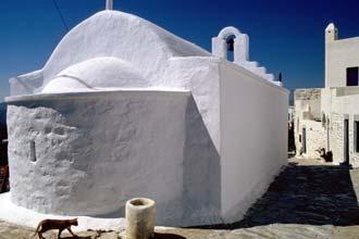 A tranquilidade da ilha Amorgos