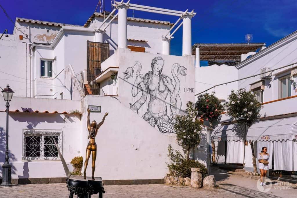 Kur apsistoti Kapryje: Anacapri