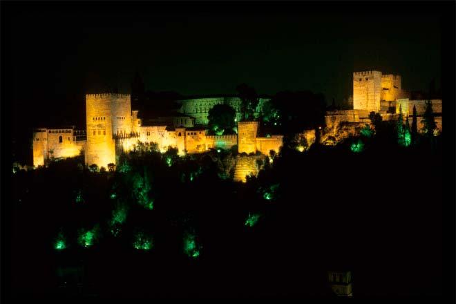Palácio de Alhambra, em Granada