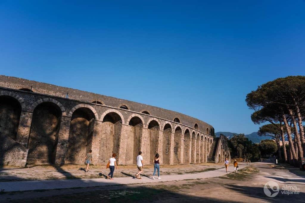 Anfiteatro de Pompeia