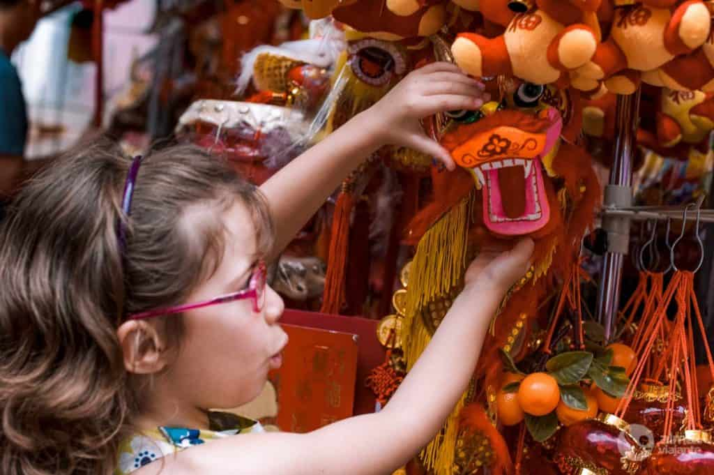 Ano do Dragão em Chinatown, Singapura