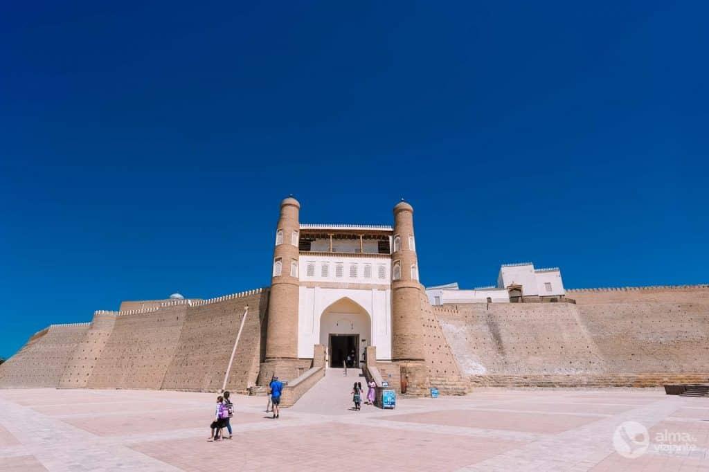 Arca, Bukhara
