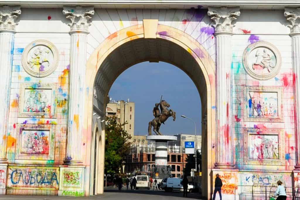 Arc de Triomphe Skopje