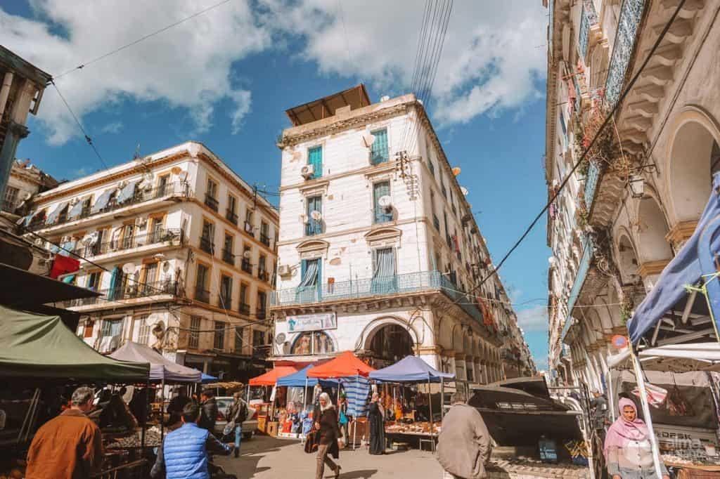 Heimsókn í Algiers: kasbah