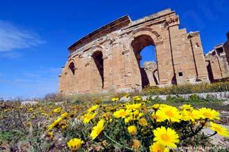 Teatro de Sabratha, Líbia