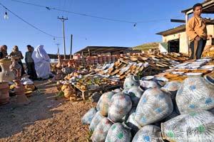 Loja de cerâmica em Gharyan, próximo de Tripoli