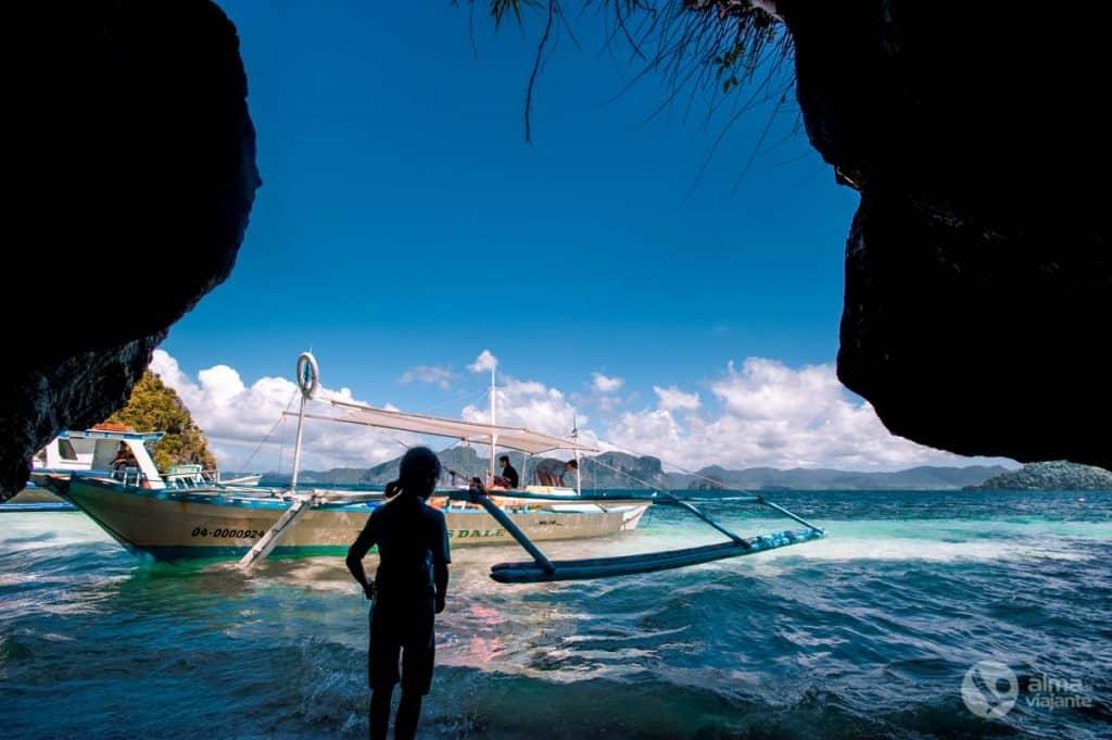 Heimsókn Bacuit Archipelago