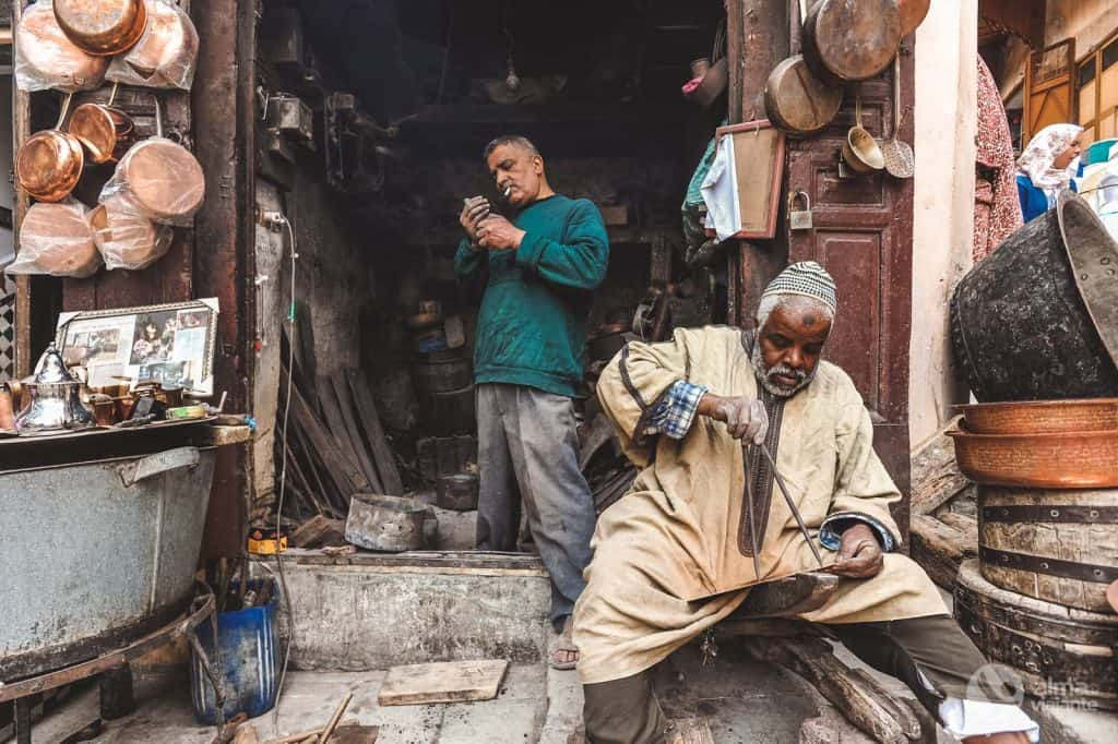 Craftsman in Fez