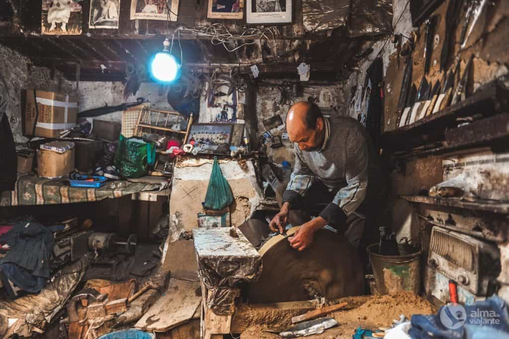 Artigiano, medina di Fez