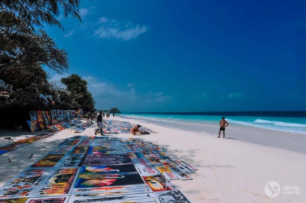 Praia Kendwa, Zanzibar