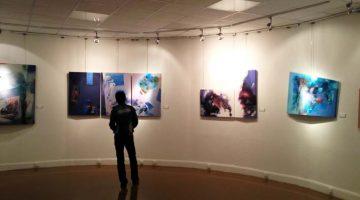 Výstava v Domě umělců v Teheránu
