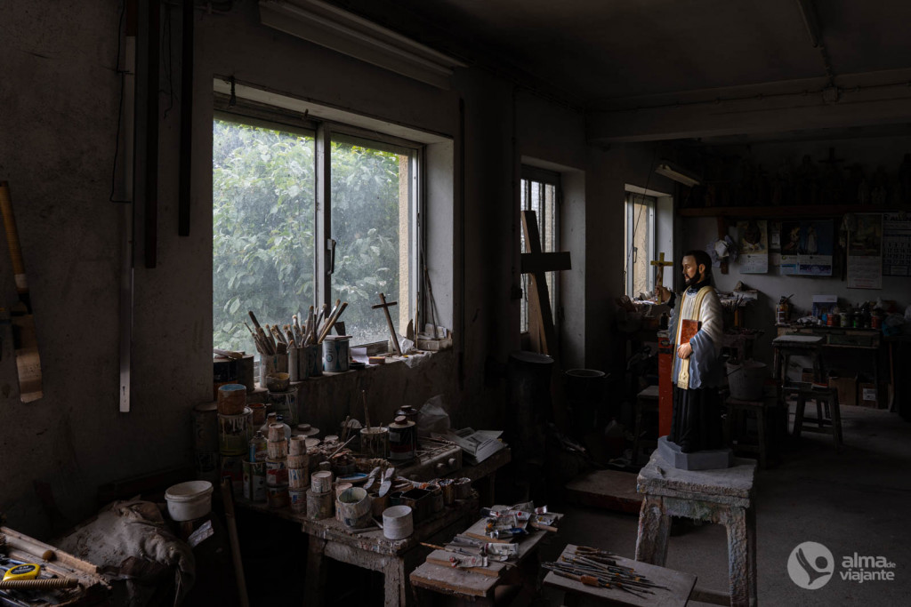 Oficina de Boaventura Matos, em São Mamede do Coronado